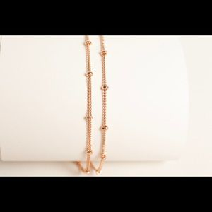 Jewelry - Brand New 14K Gold Filled double chain bracelets